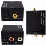 Convertidor Audio Digital Óptico A Rca Y Coaxial