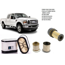 Filtros Para Ford 6.4 Turbo Diesel F250 F350 F450 F550