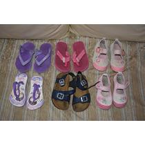 Lote De Zapatos Niña Sandalias Romanitas Guillerminas