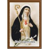 Santinho Santa Gertrudes Milheiro