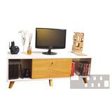 Mesa Para Tv - Laqueado + Enchapado (fabricantes)