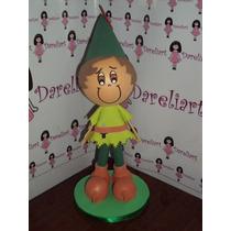 Boneco Peter Pan Em Eva 3d 23 Cm - Disney