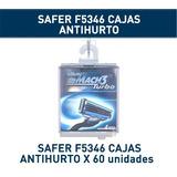 Safer Cajas P/ Resguardo Hojas De Afeitar Pilas Maquillaje