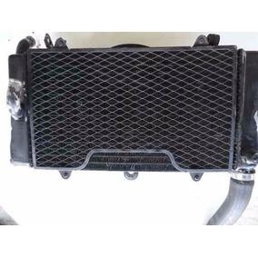 Radiador E Ventoinha Para Moto Honda Cb1000 Ano 1988