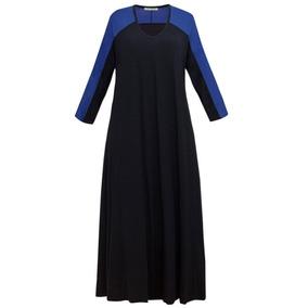 Vestido Largo De Modal - Talles Grandes - Envíos Gratis