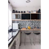 Papel Parede Pastilhas 3d Lavável Vinílico Cozinha Banheiro