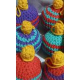 Adornos Arbolito Navidad Tejidos A Crochet Artesanal
