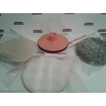 Kit Backing Plate + Cordero + Pad De Poliespuma 5 Pulgadas
