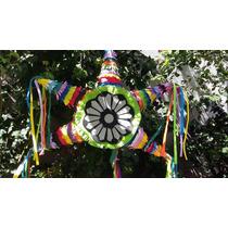 Piñata Estrella Mexicana De Goma Eva Re Utilizable Y Lavable