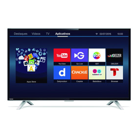 Smart Tv Led Dtv Full Hd 40 Toshiba 40l2600 Wifi Hdmi Usb