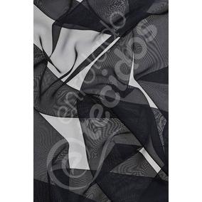 Tecido Voil Preto 3m Largura Importado 1m X 3m Decoração
