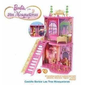 Castillo Original Barbie De Las 3 Mosqueteras