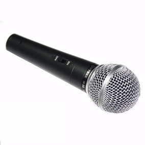 Microfone Profissional Com Cabo Sm 58 Igreja
