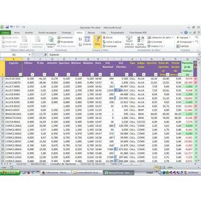 Planilla Excel Para Valuar Opciones