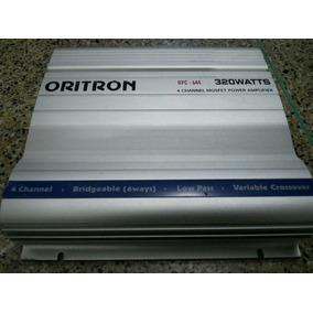 320rms Modulo Rca Oritron Pcd-644 Mono Estéreo Bridged Troca
