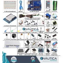 Kit Arduino Ultimate Uno R3 1602lcd Servo Motor Sensor