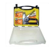 Grampeador Industrial Kit Com Estojo E 600 Grampos