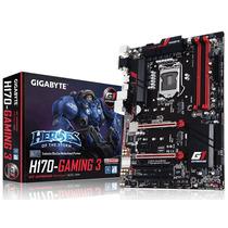 Placa Mae Lga 1151 Intel Gigabyte Ga-h170-gaming 3 Atx Ddr4