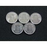 1 Peso Aluminio, Chile, 1954-58
