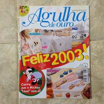 Revista Agulha De Ouro 77 Dez2002 Mickey Noel Bordado