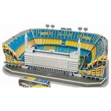 Adorno Torta De Cumpleaños Maqueta P Armar Estadio Boca 3d