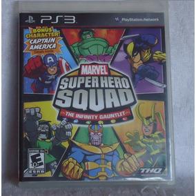 Marvel Super Hero Squad Ps3 Midia Fisica *frete Gratis*