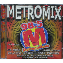 Metromix Cd Metropolitana Fm 98,5 Dance Music