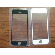 Cristal Vidrio Touch Glass Iphone 5 5g 5s 5c Negro Y Blanco
