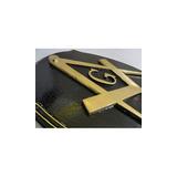 Quadro Madeira Esquadro Compasso Bronze
