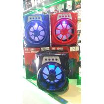 Parlante Prtatil Bluetooth,pendrive,microsd, Radio Fm