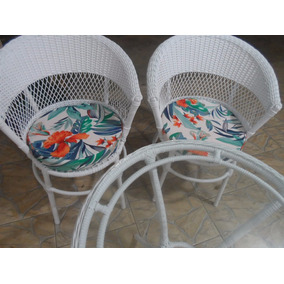 Cadeiras De Fibra Sintética Para Varanda, Piscina, Jardim Rj