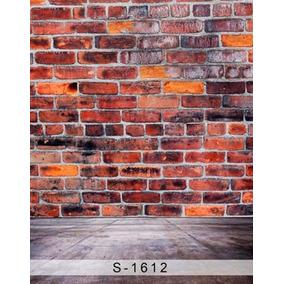 Fondo Fotografico 180 X 300 Cm Impresion S/tela Ladrillos