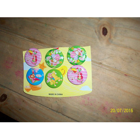 Mini Prendedores Frutillitas X 6
