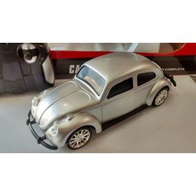 Carrinho Controle Remoto Fusca New Beetle Total 27 Mhz 20 Cm
