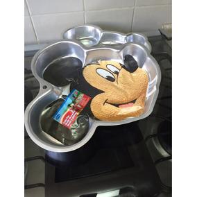 Molde De Pastel En Aluminio Mickey Mouse