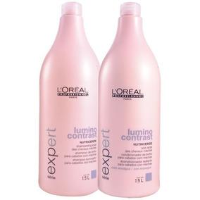 Kit Lumino Contrast Shampoo 1500ml E Condicionador 1500ml
