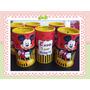 90 Cofrinhos Mickey Minnie Minie Cofres Personalizados 6x10