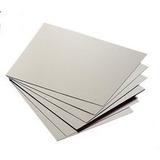 Papelão Cinza Para Cartonagem 40x50cm Esp. 1,5mm - 10 Placas