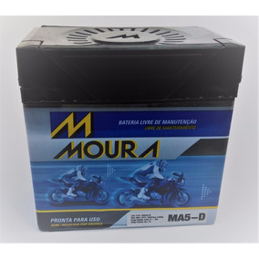 Bateria Moto Moura Ma5-d Sundown Web 100/ Suzuki Ah100 Adres