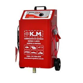 Carregador De Bateria K&m 1b / 50a Automático 110v/220v 12v