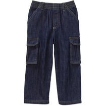 Pantalón Americano Mezclilla Para Niño Talla 3 Envio Gratis