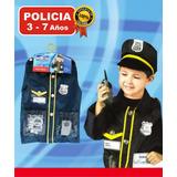 Disfraz Set Policía Con Accesorios Cotillón Fiesta Cumpleaño