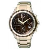 Reloj Citizen Fb1372-55w Crono Eco Drive Dama Agente Oficial
