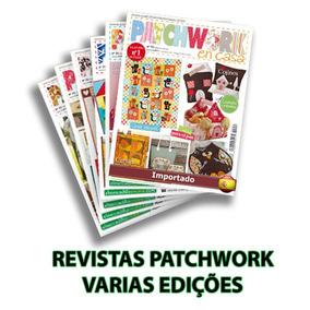 Revista Patchwork Importada Varias Edições Novas