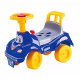 Motoca Passeio Carrinho Infantil Bebê Menino Azul Andador