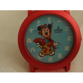 Reloj Seiko Lorus Minnie Mouse Disney