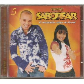 Forró Saborear - Vol. 5 - Cd Novo - Lacrado - Reputação 100%