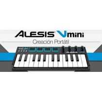 Alesis V Mini Teclado Controlador Usb Midi Pads Estilo Mpk