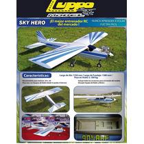 Avión Entrenador Rc Radio Control Sky Hero Aeromodelismo