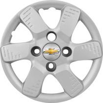 Jogo Calota Gm Aro 13 Celta Spirit Corsa Prisma Emblema Gm
